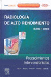 RADIOLOGIA DE ALTO RENDIMIENTO PROCEDIMIENTOS INTERVECIONISTAS