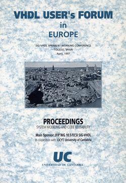 VHDL USER'S FORUM IN EUROPE