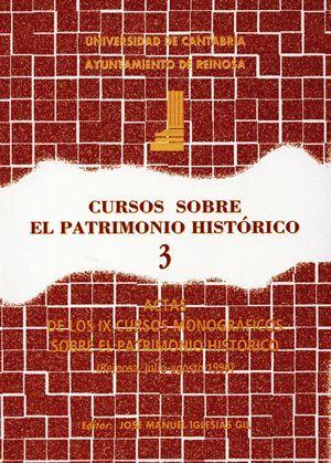CURSOS SOBRE EL PATRIMONIO HISTÓRICO 3