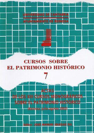 CURSOS SOBRE EL PATRIMONIO HISTÓRICO 7