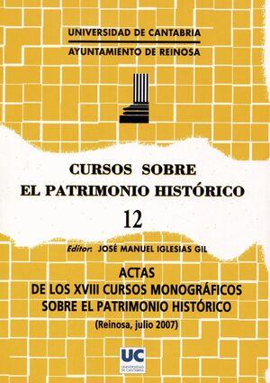 CURSOS SOBRE EL PATRIMONIO HISTÓRICO 12