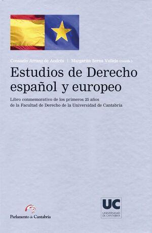 ESTUDIOS DE DERECHO ESPAÑOL Y EUROPEO