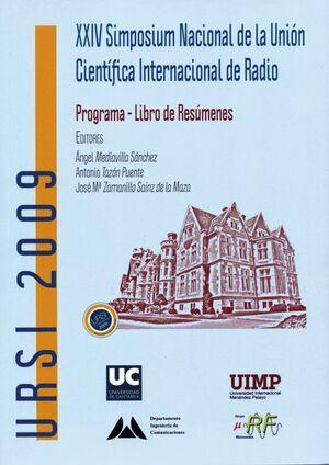 XXIV SIMPOSIUM NACIONAL DE LA UNIÓN CIENTÍFICA INTERNACIONAL DE RADIO