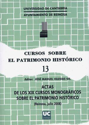 CURSOS SOBRE EL PATRIMONIO HISTÓRICO 13