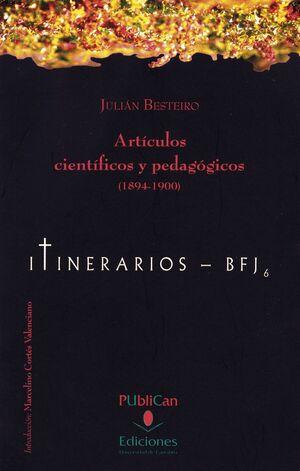 ARTÍCULOS CIENTÍFICOS Y PEDAGÓGICOS (1894-1900)