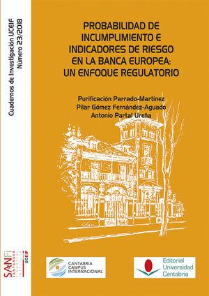 PROBABILIDAD DE INCUMPLIMIENTO E INDICADORES DE RIESGO EN LA BANCA EUROPEA: UN ENFOQUE IGUALATORIO