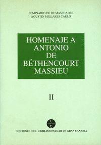 HOMENAJE A ANTONIO DE BETHENCOURT MASSIEU