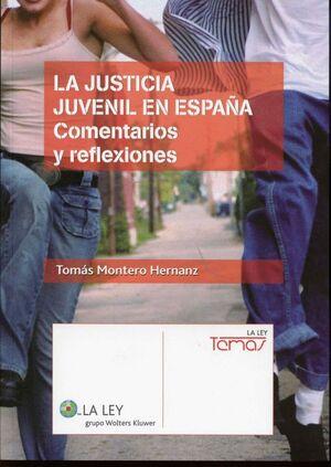 LA JUSTICIA JUVENIL EN ESPAÑA