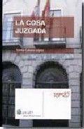 LA COSA JUZGADA
