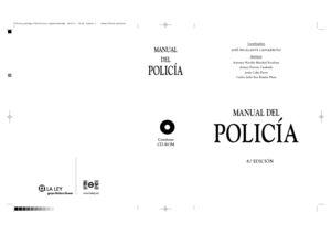MANUAL DEL POLICÍA