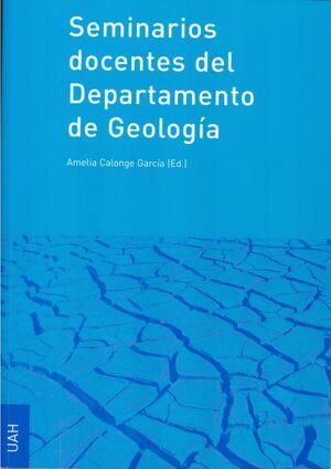 SEMINARIOS DOCENTES DEL DEPARTAMENTO DE GEOLOGÍA