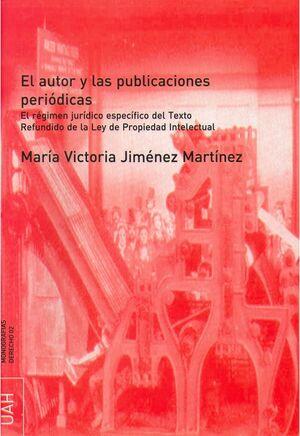 EL AUTOR Y LAS PUBLICACIONES PERIÓDICAS
