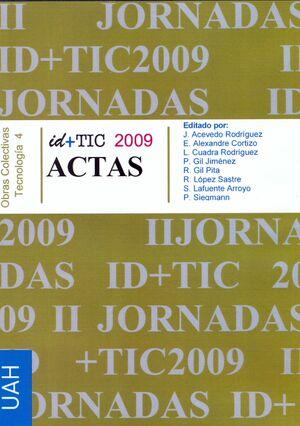 II JORNADAS ID+TIC 2009
