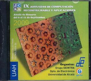 IX JORNADAS COMPUTACIÓN RECONFIGURABLE Y APLICACIONES