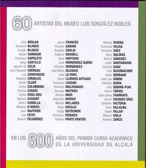 60 ARTISTAS DEL MUSEO LUIS GONZÁLEZ ROBLES
