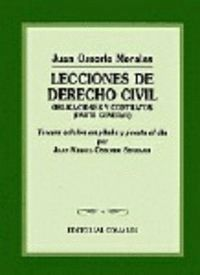 LECCIONES DE DERECHO CIVIL 3ªED