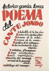 POEMA DEL CANTE JONDO (FACSIMIL)