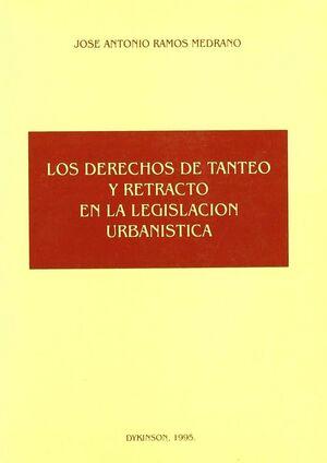 DERECHOS DE TANTEO Y RETRACTO EN LA LEGISLACION URBANISTICA