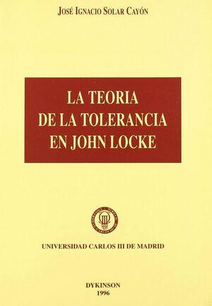 LA TEORIA DE LA TOLERANCIA EN JOHN LOCKE.