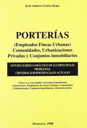 PORTERAS (EMPLEADOS FINCAS URBANAS) COMUNIDADES, URBANIZACIONES PRIVADAS Y CONJUNTOS INMOBILIARIOS