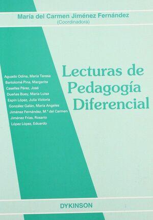 LECTURAS DE PEDAGOGA DIFERENCIAL.