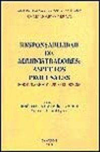 RESPONSABILIDAD DE ADMINISTRADORES: ASPECTOS PROCESALES, FORMULARIOS Y JURISPRUDENCIA ASPECTOS PROCE