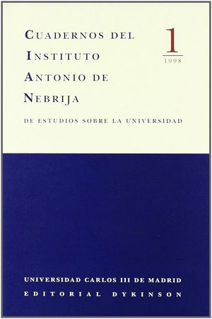 CUADERNOS ANTONIO DE NEBRIJA 1