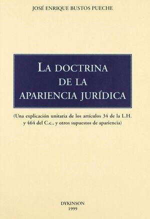 LA DOCTRINA DE APARIENCIA JURDICA UNA EXPLICACIÓN UNITARIA DE LOS ARTCULOS 34 DE LA LEY HIPOTECARI