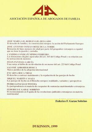 PUNTOS CAPITALES DE DERECHO DE FAMILIA EN SU DIMENSION INTERNACIONAL