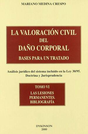 BASES PARA UN TRATADO, ANÁLISIS JURDICO DEL SISTEMA INCLUIDO EN LA LEY 30/95, DOCTRINA Y JURISPRUDE