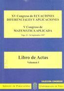 XV CONGRESO DE ECUACIONES DIFERENCIALES Y APLICACIONES.V CONGRESO DE MATEMÁTICA APLICADA