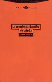 LA EXPERIENCIA FILOSÓFICA DE LA INDIA