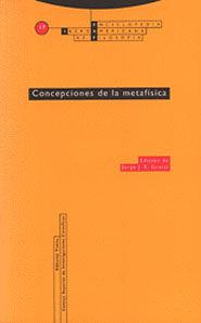 CONCEPCIONES DE LA METAFÍSICA