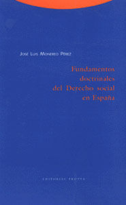 FUNDAMENTOS DOCTRINALES DEL DERECHO SOCIAL EN ESPAÑA