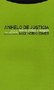 ANHELO DE JUSTICIA