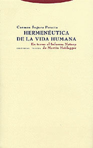 HERMENÉUTICA DE LA VIDA HUMANA