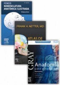 PACK ANATOMIA: DRAKE, NETTER, FENEIS