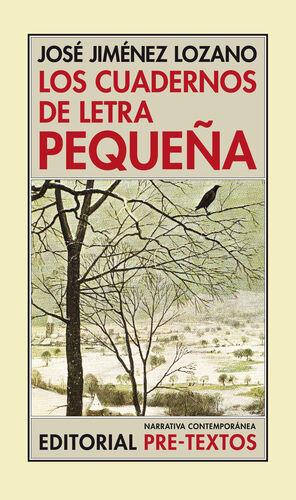 LOS CUADERNOS DE LETRA PEQUEÑA