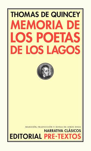 MEMORIA DE LOS POETAS DE LOS LAGOS