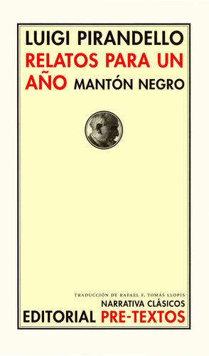 RELATOS PARA UN AÑO. MANTÓN NEGRO