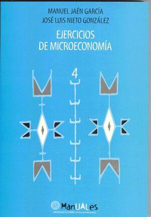 EJERCICIOS DE MICROECONOMÍA