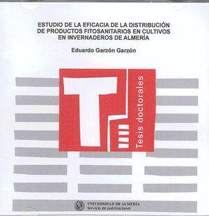 ESTUDIO DE LA EFICACIA DE LA DISTRIBUCIÓN DE PRODUCTOS FITOSANITARIOS EN CULTIVOS EN INVERNADEROS DE