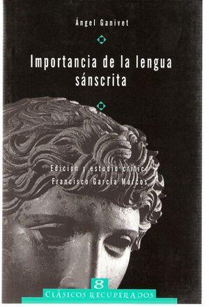 IMPORTANCIA DE LA LENGUA SÁNSCRITA