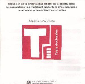 REDUCCIÓN DE LA SINIESTRALIDAD LABORAL EN LA CONSTRUCCIÓN DE INVERNADEROS TIPO MULTITÚNEL MEDIANTE L