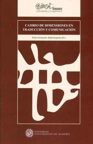 CAMBIO DE DIMENSIONES EN TRADUCCIÓN Y COMUNICACIÓN