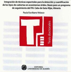 INTEGRACIÓN DE TÉCNICAS ESPECTRALES PARA LA DETECCIÓN Y CUANTIFICACIÓN DE LOS TIPOS DE CUBIERTAS EN