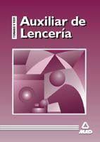 AUXILIAR DE LENCERÍA. TEMARIO Y TEST.