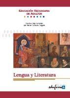 LENGUA Y LITERATURA. EDUCACIÓN SECUNDARIA DE ADULTOS.