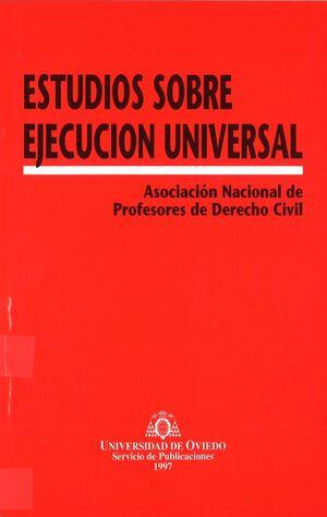 ESTUDIOS SOBRE EJECUCIÓN UNIVERSAL