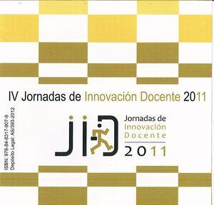 IV JORNADAS DE INNOVACIÓN DOCENTE 2011